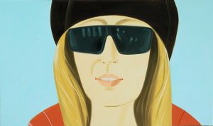 Alex Katz, Dark Brown Hat, 2002 © VG Bild-Kunst Photo Mario Gastinger