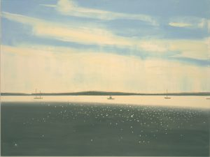 Alex Katz, Sparkling Sea 1, 2007, Oil on canvas © VG Bild-Kunst Photo Mario Gastinger